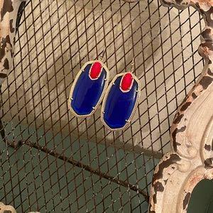 Kendra Scott Jewelry - Blue & Red Kendra Scott earrings